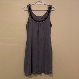 Esprit Sleeveless Dress In Gray